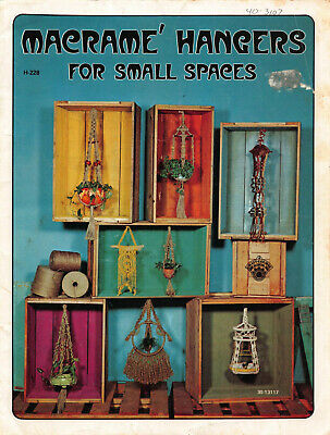 Marcrame Hangers and Wall Decorations 24 page pattern book copy