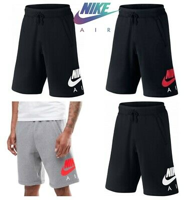 Nike Mens Shorts Air Fleece Jogger Sweat Gym Running Jersey Short Casual Size