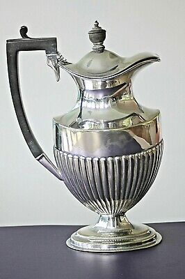 Vintage silver plated ornate water jug Mappin & Webb princes plate