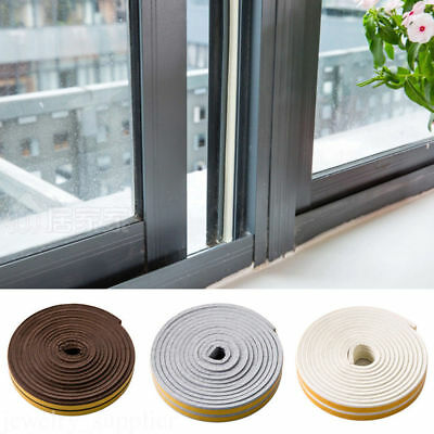 Weatherbar Soundproof Draft Self Adhesive Silica Gel Door Window Seal Strip Roll
