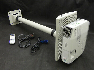 Epson EB-X20 XGA/HDMI LCD Projector - Projects Excellent Image - Lamp 4236 hrs