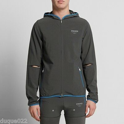 $199 NIKE X UNDERCOVER GYAKUSOU UNLINED STRETCH JACKET Black Heather Blue Spark