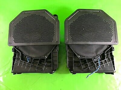 Bmw 1 Series E87 2X Subwoofer Speakers Central Bass 2004-2007