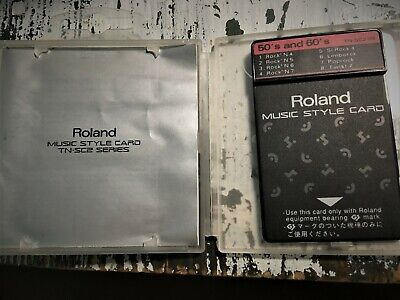Style card Roland 50's and 60's TN-SC2-05 - 100% working