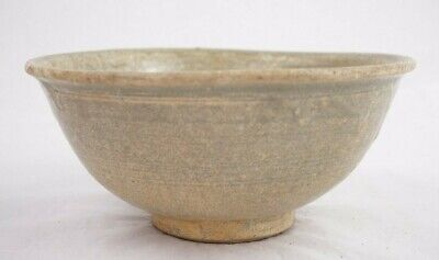 Chinese Han Dynasty Glazed Earthenware Bowl 6 3/4 Inches Diameter