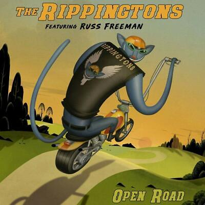The Rippingtons Feat. Russ Freeman - ‎Open Road CD 2019 - FREE Fast U.S.Shipping
