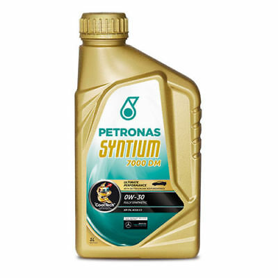 Motor Engine Oil Petronas Syntium 7000 DM 0W30 Car Fully Synthetic 1 Litre x 6