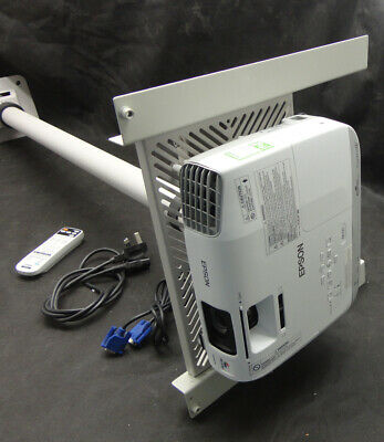 Epson EB-X27 XGA/HDMI LCD Projector - Projects a good image - Lamp 3105 hrs