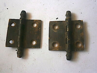 LONGCASE GRANDFATHER CLOCK  brass  door hinges   C1730