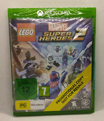 LEGO Marvel Superheroes 2 Xbox One promo - Singleplayer Co-Op action adventure