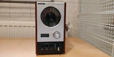 Sony ST-80 F Solid State Stereo Tuner (1969-71)
