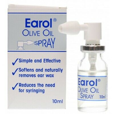 Earol Ear Wax Remover Olive Oil Spray 10 ml**Free Delivery**