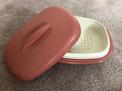 """Vintage Tupperware Pocket Comb ~1967 Styling Design Dusty Rose Pink 4 1//2/"""" New"""