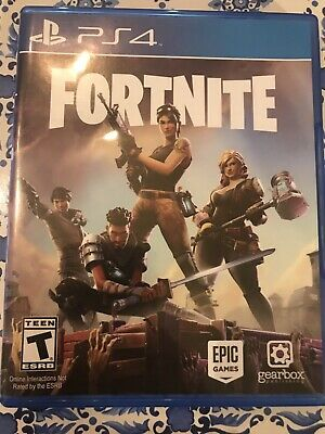 FORTNITE PS4 PHYSICAL DISC with EARLY ACCESS WEAPONS PACK