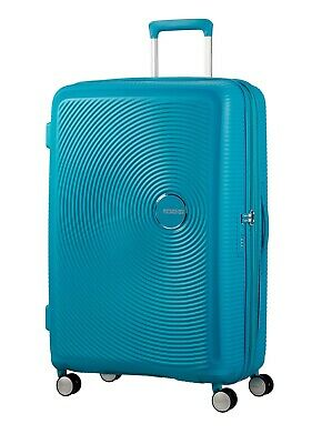 American Tourister Curio 80cm Large Expandable Spinner Turquoise