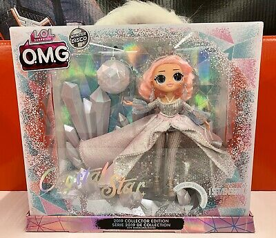 IN HAND LOL Surprise! OMG CRYSTAL STAR Collector Edition Doll Winter Disco
