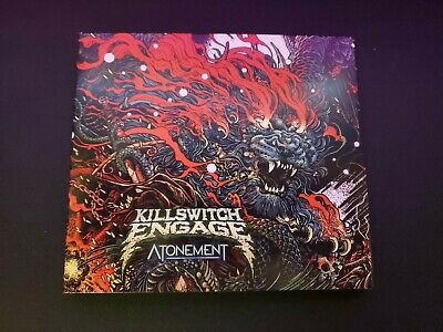 Killswitch Engage Atonement Cd (Explicit)-- Listened To Once -- Complete