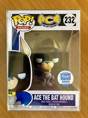 Funko Pop Ace the Bat hound #232 + soft Pop protector