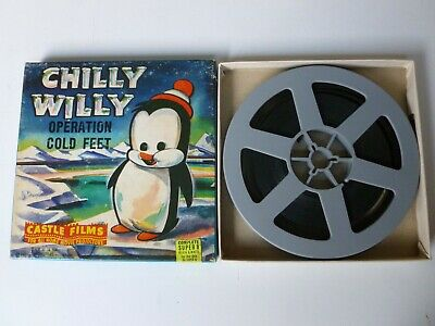 """Vintage Chilly Willy Super 8mm Movie """"OPERATION COLD FEET"""""""