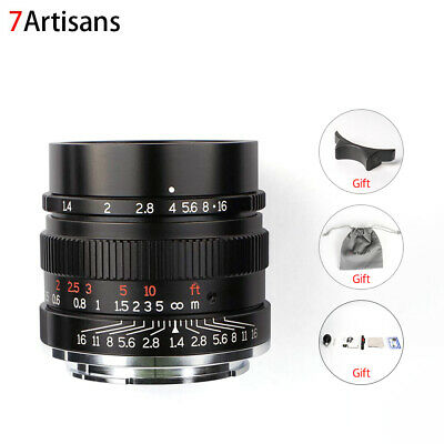 7artisans 35mm F1.4 Full Fame Lens for Sony Emount Cameras Like A7 A7II A7R A7RI
