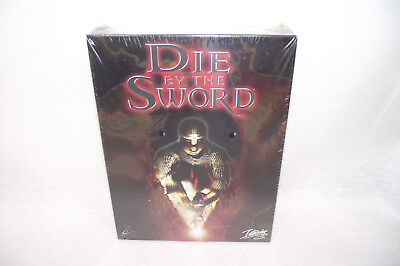DIE BY THE SWORD Coffret Jeu PC NEUF sous Blister INTERPLAY 1998