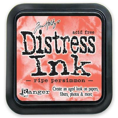 Tim Holtz Distress Ink Pad - RIPE PERSIMMON