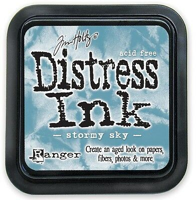Tim Holtz Distress Ink Pad - STORMY SKY
