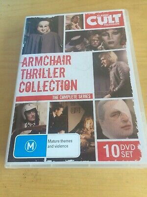 Armchair Thriller Dvd Collection Itv Suspense Horror Classic Seventies Pal Mint