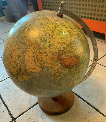 Large Early Vintage Globe Collectable