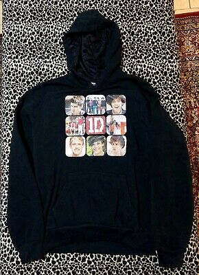 """One Direction"" Black Hoodie Youth 14 Perfect Condition"