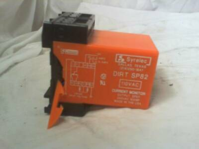 Syrelec DIRT SP82 Current Monitor Relay - New