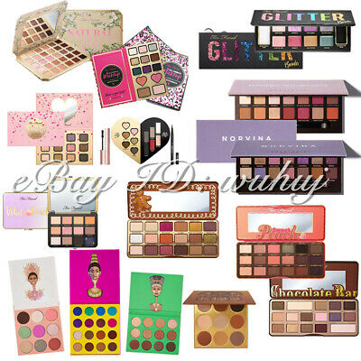Anastasia /JUVIA'S PLACE  /Too Faced Eye Shadow Palettes New Hot Gift