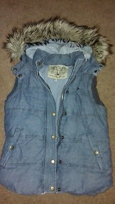 Girls/Ladies Bodywarmer/Gilet By Jack Wills, Size 8, Good Used Condition