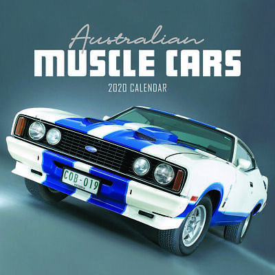 2020 Australian Muscle Cars Square Wall Calendar by Paper Pocket 18163 FREE POST