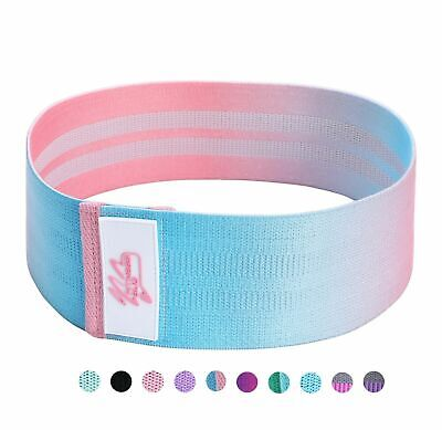 Fabric Resistance Bands - Heavy Duty Booty Bands   Glute Hip Circle   Non Slip U