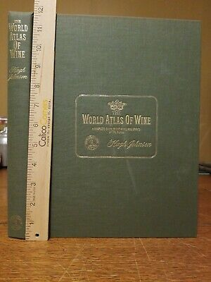 The World Atlas of Wine Hugh Johnson 1971 1st Edition 3rd printing Hard Cover