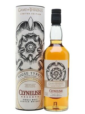 Game Of Thrones House Of Tyrell Clynelish Reserve Scotch Whisky 700ml