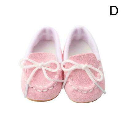 MAGIC GIFT Beautiful Doll Shoes Fits 18 Inch Doll and dolls 43cm Fast baby J0B6