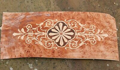 Marquetry panel for antique restoration/cabinet making real wood veneer