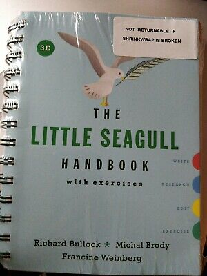 The Little Seagull Handbook with Exercises (Third Edition) Brand New