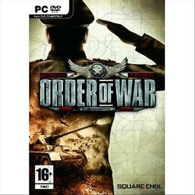 ORDER OF WAR pc dvd rom gioco game nuovo sigillato ita