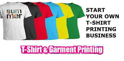 Start Your Own T-Shirt Printing  Business With Online Shop