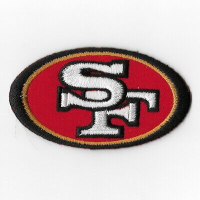 San Francisco 49ers (a) Iron on Patch Embroidered Football Patches