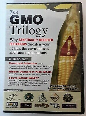 The GMO Trilogy New/Sealed 2 DVD + 1 CD Set  Free Shipping