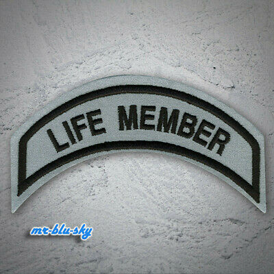 Small Life Member Reflective Patch ~ Harley Davidson Owners Group HOG