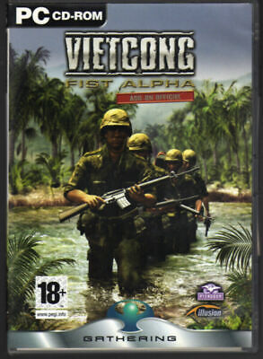 vietcong fist alpha pc dvd ROM gioco game nuovo sigillato