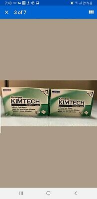 2 BoxesKimtech Science KimWipes Delicate Task Wipers