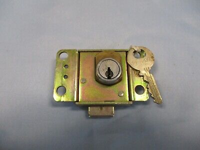 Western Electric Payphone lock 1 key AT&T Pay Phone Northern Automatic 3 Slot