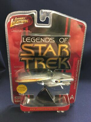Legends Star Trek Johnny Lightning USS Enterprise NCC-1701 D Series 4 FREE SHIP!