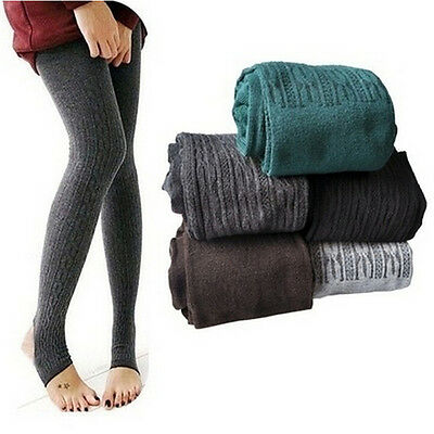 Fashinable Winter Warm Women Lady Skinny Slim Stretch Pants Thick TightsEh